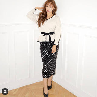 rienda - bicolor peplum knit top