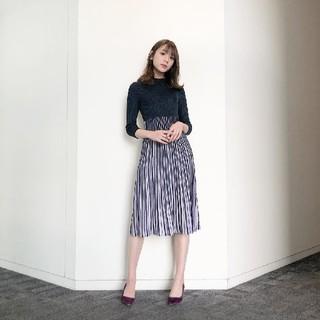 アンドクチュール(And Couture)の【未使用】and couture ワンピース(ひざ丈ワンピース)