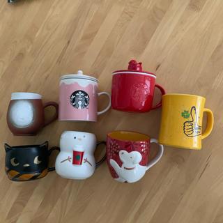スターバックスコーヒー(Starbucks Coffee)のスターバックス マグカップ7個セット(マグカップ)