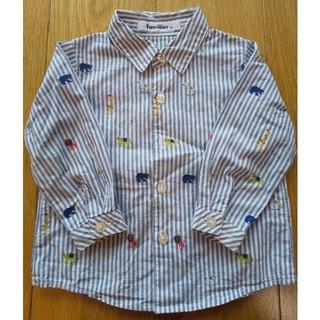 ファミリア(familiar)のfamiliar長袖シャツ 80(シャツ/カットソー)