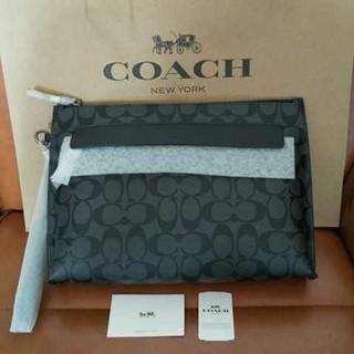 コーチ(COACH)の新品 コーチ COACH  F29508 メンズ クラッチバッグ(セカンドバッグ/クラッチバッグ)