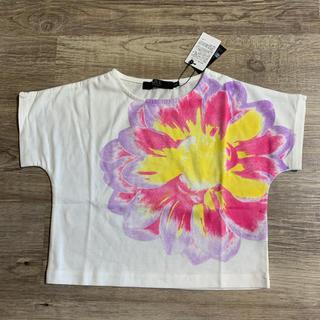 AZUL by moussy - 新品!【AZUL】フラワープリント Tシャツ サイズ100