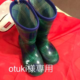 ミキハウス(mikihouse)のMIKIHOUSE レインブーツ 18cm(長靴/レインシューズ)