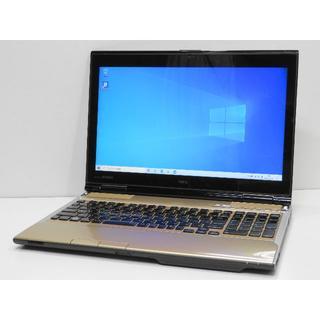 エヌイーシー(NEC)のクリスタルゴールド LAVIE LL750/H Core i7(ノートPC)