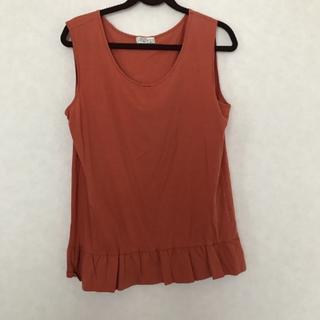 ミナペルホネン(mina perhonen)のサリースコット☆オレンジタンクトップ(Tシャツ(半袖/袖なし))