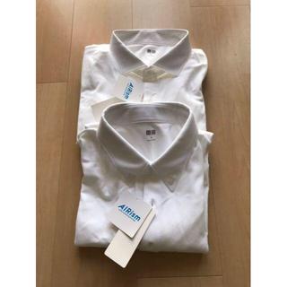 【新品:2点setオマケ付】ユニクロ エアリズムポロシャツ XL ホワイト