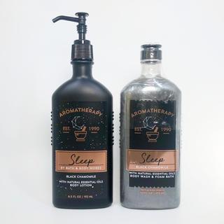 Bath & Body Works - BBW アロマセラピー・スリープ・ブラックカモミール 2点セット