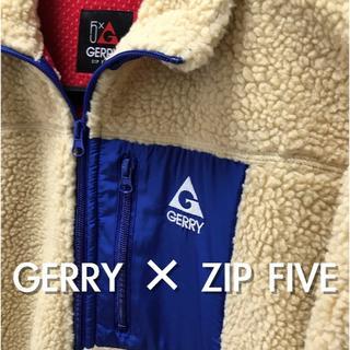 ジェリー(GERRY)のGERRY ZIP FIVE ボア フリース 限定 ジェリー ジップファイブ(ブルゾン)