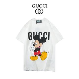 グッチ(Gucci)の「2枚8000円送料込み」春夏/グッチーミッキーマウスTシャツ①(Tシャツ(半袖/袖なし))