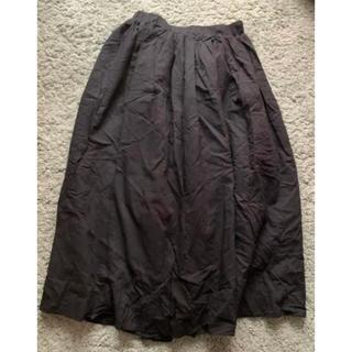 スピンズ(SPINNS)のSPINNS ロングスカート 黒(ロングスカート)