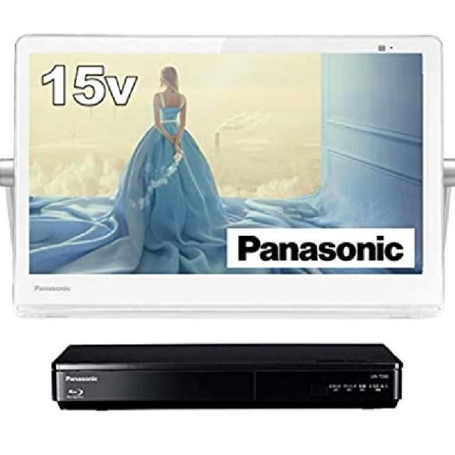 Panasonic(パナソニック)の【新品未開封】プライベートビエラ UN-15TD9-W スマホ/家電/カメラのテレビ/映像機器(テレビ)の商品写真