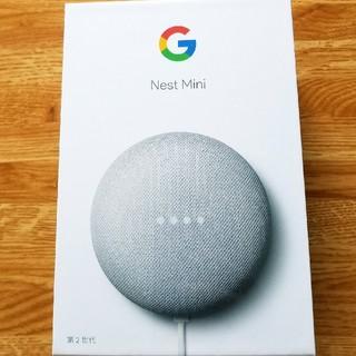 クローム(CHROME)の新品未開封 Google Nest Mini philips Netfilix(PC周辺機器)