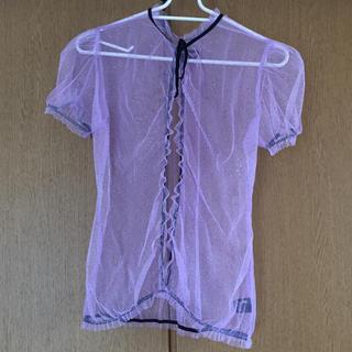 エディットフォールル(EDIT.FOR LULU)のkrisssoonik susan glitter tulle top(Tシャツ/カットソー(半袖/袖なし))