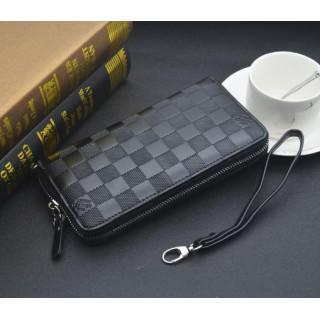 メンズ 財布 ラウンドファスナー 長財布 ウォレット レディース 黒(長財布)