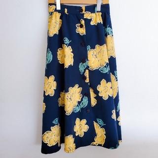リズリサ(LIZ LISA)の【498】リズリサ◇LIZ LISA◇大花ロングスカート(ロングスカート)