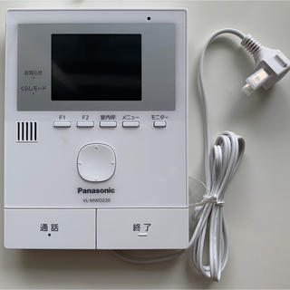 パナソニック(Panasonic)の#5 VL-MWD220K 親機 VL-SWD220Kの親機のみ(防犯カメラ)
