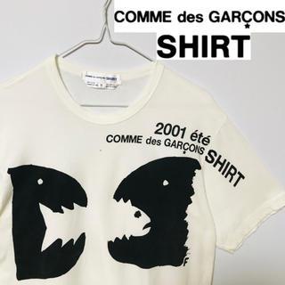 COMME des GARCONS - 美品!トルコ製!COMME desGARCONS アートグラフィックTシャツ