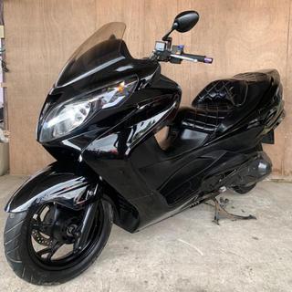 スズキ(スズキ)の【SUZUKI(スズキ)スカイウェイブ250 M】CJ45A、ビッグスクーター(車体)