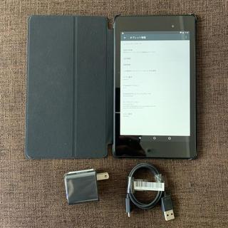 ネクサス7(NEXUS7)のタブレット Nexus7(2013年)16GB Wi-Fiモデル(動作確認済み)(タブレット)