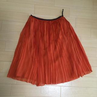 ロペ(ROPE)のプリーツスカート(ひざ丈スカート)