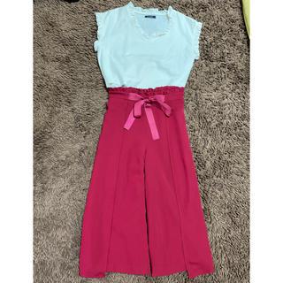 クチュールブローチ(Couture Brooch)のクチュールブローチ パンツ&ブラウスセット 美品(シャツ/ブラウス(半袖/袖なし))