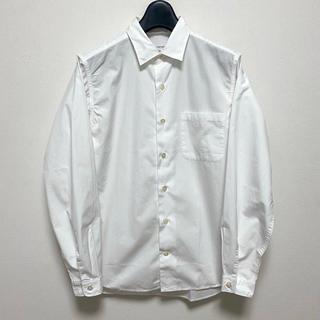 ナナミカ(nanamica)の17SS nanamica ナナミカ レギュラーカラーシャツホワイト SMALL(シャツ)