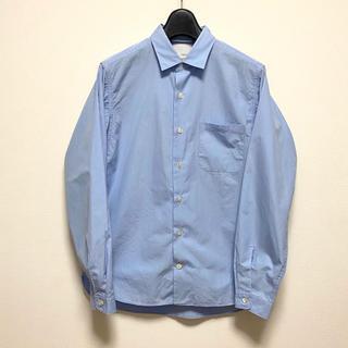 ナナミカ(nanamica)のnanamica ナナミカ レギュラーカラー シャツ ブルー small(シャツ)