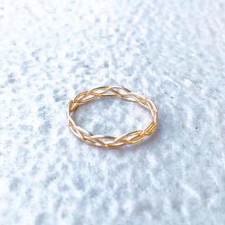 アーカー(AHKAH)の[ランチセール] full moon ring* フルムーンリング(リング(指輪))