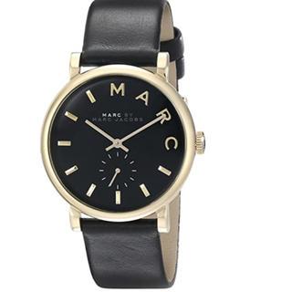マークバイマークジェイコブス(MARC BY MARC JACOBS)のマークバイマークジェイコブス  MBM1269 ベイカー ブラックレザーベルト(腕時計)