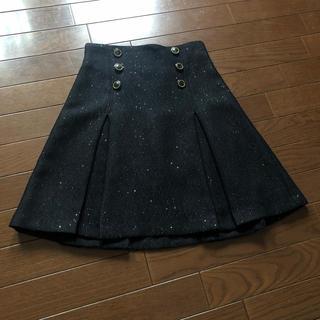 リリーブラウン(Lily Brown)のリリーブラウンラメ入りスカート(ミニスカート)