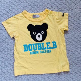 ダブルビー(DOUBLE.B)のミキハウス 80(Tシャツ)