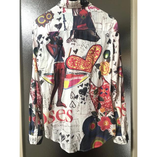 DESIGUAL(デシグアル)のDesigual コットンシャツ レディースのトップス(シャツ/ブラウス(長袖/七分))の商品写真