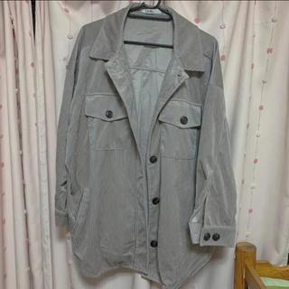 グレイル(GRL)の[冬物セール]GRL ビックシルエットコーデュロイシャツジャケット(その他)