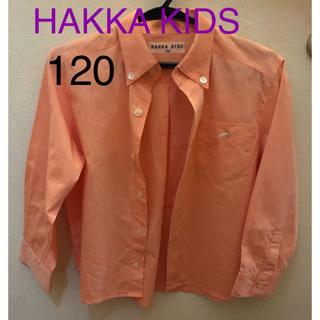 ハッカキッズ(hakka kids)のHAKKA KIDS ハッカキッズ シャツ 120(ブラウス)