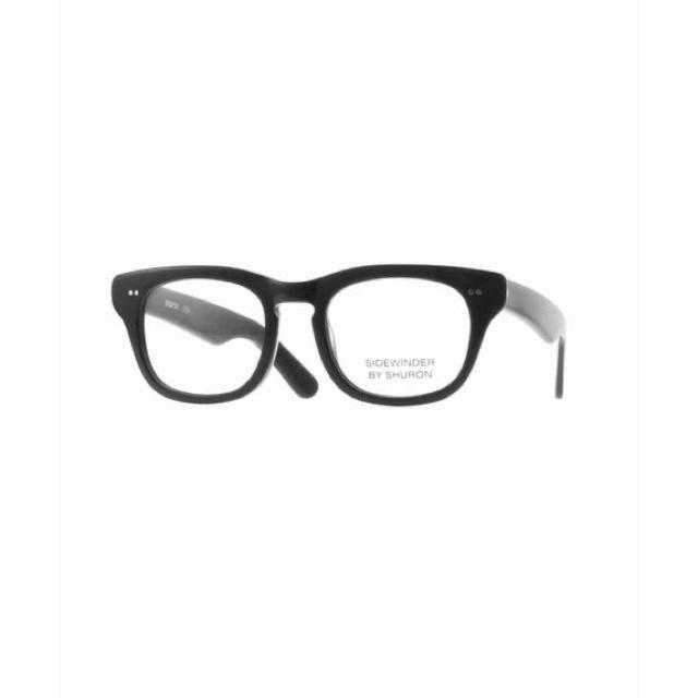 Ayame(アヤメ)のシュロン サイドワインダー エボニー サイズ 50 メンズのファッション小物(サングラス/メガネ)の商品写真