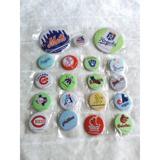 887 メジャーリーグ 缶バッジ 野球 fujicolor super HR (記念品/関連グッズ)