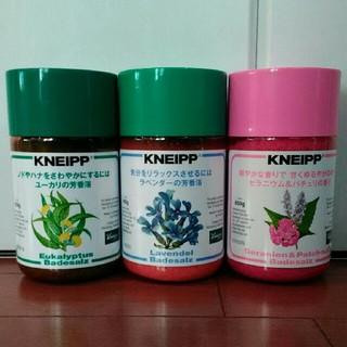 Kneipp - クナイプ バスソルト 3本