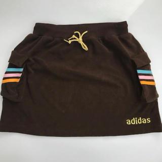 アディダス(adidas)の超美品⭐︎adidas★レディース ロゴ刺繍 スカート(M)ゴルフ・テニス(ウエア)