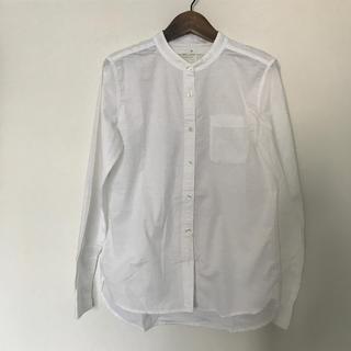 MUJI (無印良品) - 無印良品 スタンドカラーシャツ
