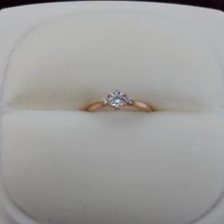 ニワカ(俄)のNIWAKA 婚約指輪 0.24カラット💎(リング(指輪))