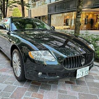 マセラティ クアトロポルテ4.2 H21年式5.7万キロコミコミ300万円(車体)