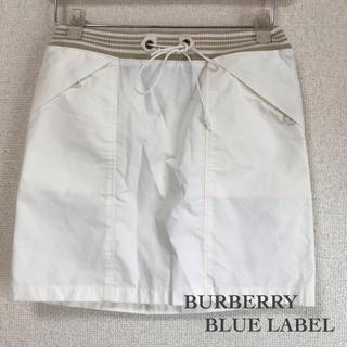 バーバリーブルーレーベル(BURBERRY BLUE LABEL)のBURBERRY BLUE LABELのスカート★38★山陽商会(ミニスカート)