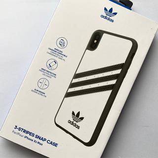 adidas - 【新品】アディダス iPhone XS Max ケース 3ストライプ ホワイト