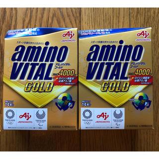 アジノモト(味の素)のアミノバイタルゴールド 14本入り 2箱(トレーニング用品)