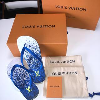 ルイヴィトン(LOUIS VUITTON)のVUITTON モリトール・ライン・トング(サンダル)
