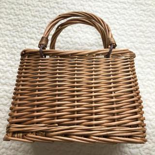 神戸レタス - スクエア かご バッグ カゴ