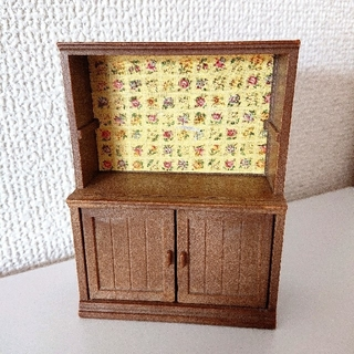 EPOCH - シルバニアファミリー 森の雑貨屋さん 飾り棚 付属品 棚 パーツ 小物 廃盤