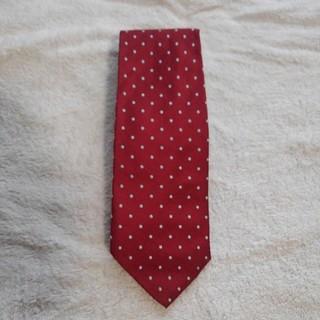 ブルックスブラザース(Brooks Brothers)の赤に水色のドットブルックスブラザー(ネクタイ)