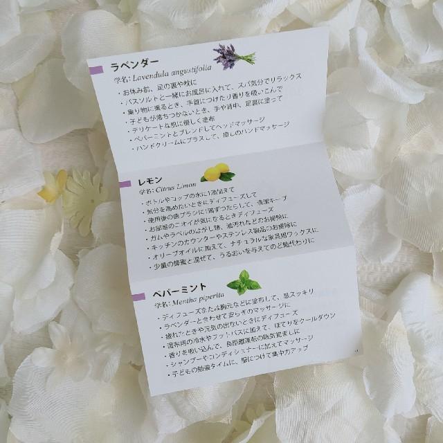 ドテラオイル イントロキット ラベンダー レモン ペパーミント 3本セット コスメ/美容のリラクゼーション(エッセンシャルオイル(精油))の商品写真