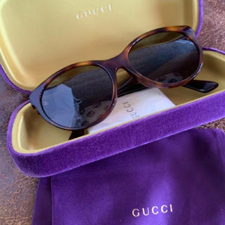 Gucci - GUCCI サングラス スワロフスキー  鼈甲 BROWN べっこう 新品